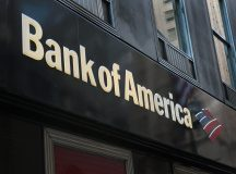 Bank of America shares close higher on Tuesday, lender to discontinue joint venture with First Data Corp