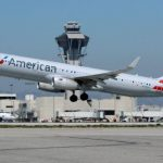 American Airlines shares fall the most in a week on Thursday, air carrier revises down its unit revenue estimate for Q4