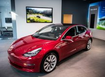 Tesla shares fall for a second straight session on Tuesday, China-produced Model 3 vehicles may be priced between $43 400 and $50 700, Bloomberg reports