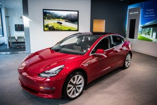 Tesla shares rebound on Thursday, Model 3 awarded top safety rating by the IIHS