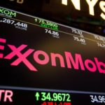Exxon Mobil shares gain for a fifth straight session on Tuesday, oil major signs expertise-sharing deal with India's Oil and Natural Gas Corp