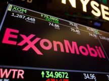 Exxon Mobil shares gain for a second straight session on Tuesday, company inks 20-year agreement with Zhejiang Energy of China