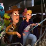 "Walt Disney shares fall for a second straight session on Monday, ""Toy Story 4"" adds to company's box-office streak"