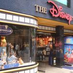 Walt Disney shares gain the most in 2 1/2 weeks on Monday, 25 stores to be opened inside select Target locations on October 4th