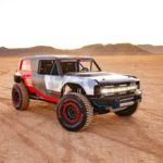 """Ford shares gain for a fourth straight session on Tuesday, auto maker posts images and video of """"race-inspired Bronco R prototype"""""""