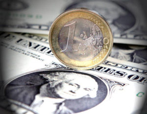 Forex Market: EUR/USD soars to 2-1/2-month highs on ECB inflation projections