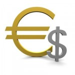 Euro on three-week high against the US dollar