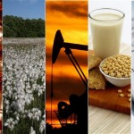 Commodities overall lower as U.S. dollar advanced