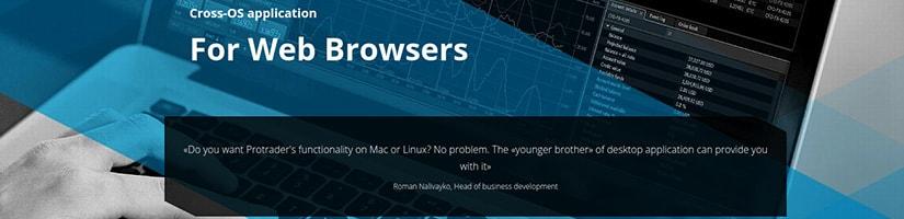 protrader for web