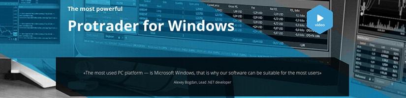 protrader windows