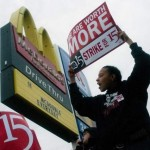 McDonald's Corp. share price down, faces employee lawsuits over payment in three U.S. states