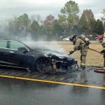 Tesla's third fire accident drives shares down 7.5%