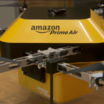 Amazon is making some tests with drones for their deliveries