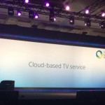 "Sony Corp. launches ""cloud"" TV service in the U.S. by the end of 2014"