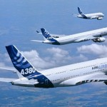 Airbus Group NV's share price up, almost doubles first-quarter profit as A380 super-jumbo costs drop