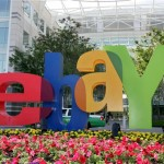 EBay Inc.'s share price down, posts first quarter loss, forecasts sales that trail average analysts' estimates