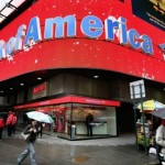 Bank of America Corp.'s share price up, seeks to resolve investigations into its mortgage-backed management