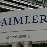 Daimler AG's share price down, confirms its 2014 forecast of significant growth in operating profit