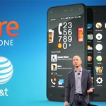 """Amazon.com Inc.'s share price up, CEO Bezos officially presents the """"Fire"""" Phone featuring a 3D screen"""