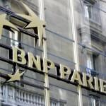 BNP Paribas SA share price up, profit hit by record fine