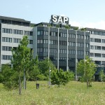 SAP SE's share price up, posts upbeat second-quarter revenue boosted by online applications