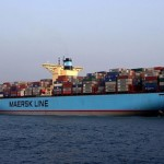 AP Moeller-Maersk A/S share price up, raises 2014 full-year profit projection due to solid performance of its container-shipping unit