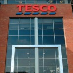 Tesco share price up, returns to sales growth