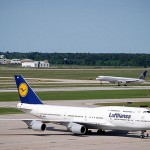 Deutsche Lufthansa AG's share price down, to sell information-technology business to International Business Machines Corp.