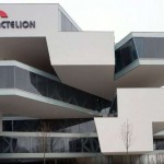 Actelion Ltd's share price up, boosts its full-year earnings projection due to stable third-quarter results and increasing Opsumit sales