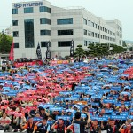 Hyundai Motor Co. share price down, union workers approve pay raise agreement to end walkout