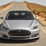 Tesla Motors Inc share price down, announces improvements on Model S