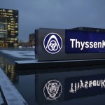ThyssenKrupp share price up, swings to profit and resumes dividends