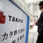 Takata Corp.'s share price up, rejects an airbag withdrawal demand from the National Highway Traffic Safety Administration