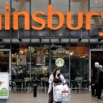 Sainsbury share price down, third-quarter sales above expectations