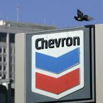 Chevron shares close higher on Monday, the company's first line at Gorgon LNG export plant closed for a month
