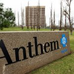 Anthem shares gain a third straight session on Thursday, company may exit Obamacare markets in 2018