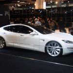 Tesla shares climb to a fresh all-time high on Friday, Model S sedan brake fix needed for a top safety rating