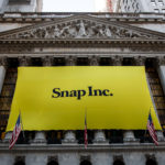 Snap shares gain the most since early March on Monday, filings show stakes held by several institutional investors