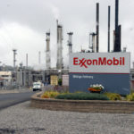 Exxon Mobil shares fall for a second straight session on Tuesday, company plans to establish plastics plant on US Gulf Coast