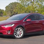 Tesla shares gain for a third session in a row on Friday, base price of company's Model X reduced
