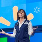 Wal-Mart shares hit a fresh all-time high on Wednesday, company appoints Judith McKenna as CEO of its international business