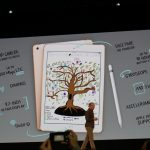 Apple shares close lower on Tuesday, tech company unveils new iPad for students