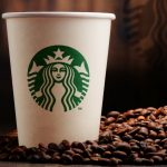 Starbucks shares fall the most since late July 2017 on Wednesday following a subdued sales forecast for the US, China