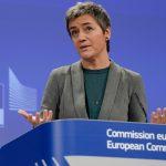 Amazon shares close lower on Wednesday, EU antitrust regulators scrutinize use of merchant data by the e-commerce giant