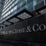 "J.P. Morgan Chase shares fall for a second straight session on Friday, bank to establish ""fintech campus"" in Silicon Valley"