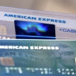 American Express shares gain the most in a week on Thursday, company launches American Express Go, its latest digital payments solution
