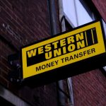 Western Union shares fall for a second straight session on Tuesday, company establishes new global headquarters in Denver
