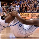 Nike shares fall the most in seven weeks on Thursday, Duke University basketball player suffers injury when Nike shoe rips in half during Wednesday game
