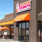 Dunkin Brands Group shares gain the most in two years on Thursday, third-quarter profit tops estimates, full-year earnings forecast revised up