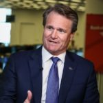 Bank of America shares close higher on Monday, CEO's total compensation for 2019 unchanged at $26.5 million